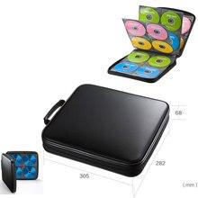 Ymjywl CD корпус Blu-Ray диск коробка высокого качества CD/DVD пакет для хранения 160 дисков емкость для автомобиля Путешествия CD оборудование для хранения