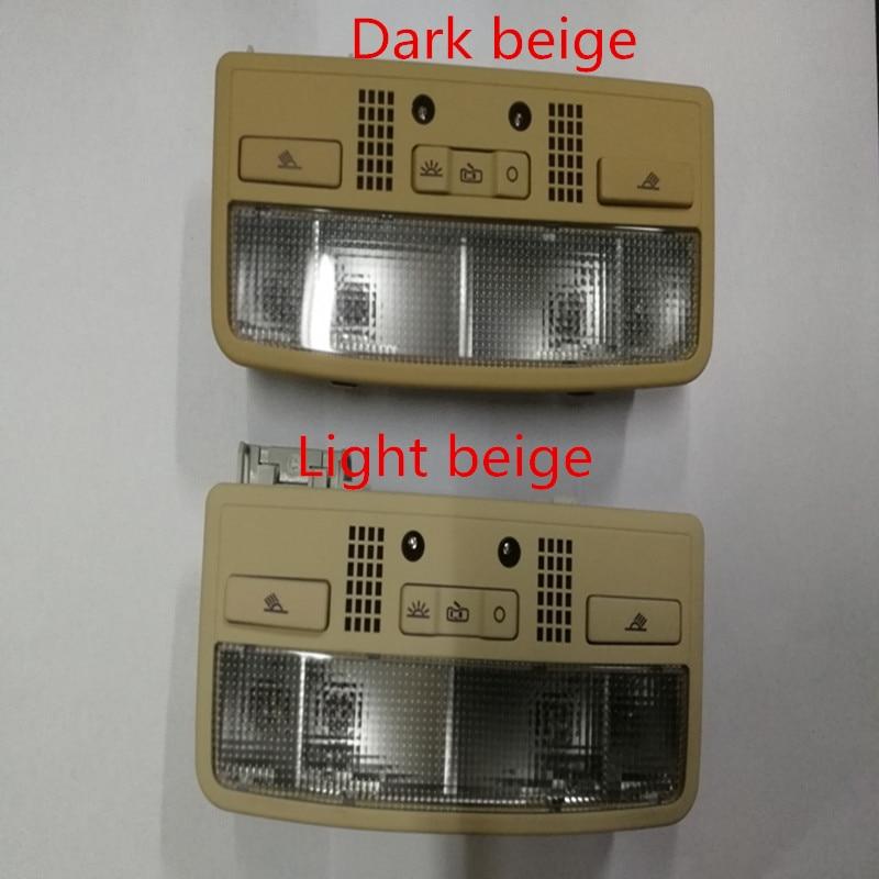 SWIEES para luz de techo Interior Beige, lámpara de lectura + Cable para Passat B5 Octavia Superb 3B0 3BD 947 105 3BD947105