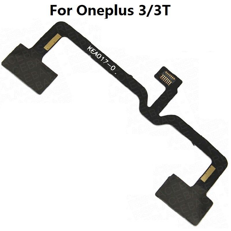Botón de menú Sensor cinta de cable Flex reemplazo para OnePlus tres 3T 5 Oneplus X E1005 E1003 E1001
