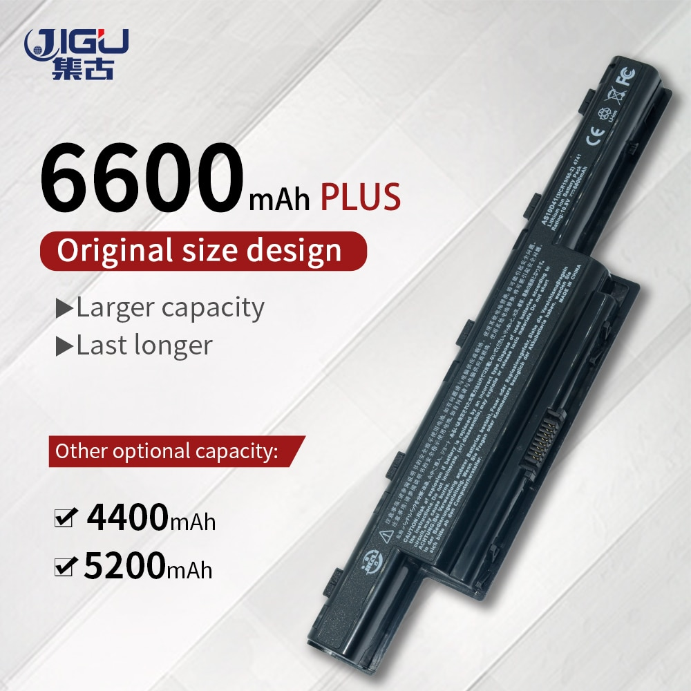 JIGU batería del ordenador portátil para Acer Aspire AS10D75 7750 7750G 7750Z...