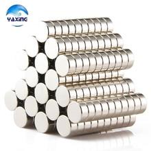 Neodymium-magnet100PCS 12mm x4mm  Rare Earth Neodymium Magnets NdFeB Magnetic Materials  Permanent Magnets