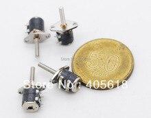 10 STÜCKE 4 Draht 2 Phase Miniatur schrittmotor (durchmesser 6mm, Höhe 8mm)