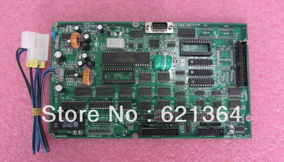 Placa base de tecnología MMI-NLCD-D7 para uso industrial nuevo y original 100% probado ok