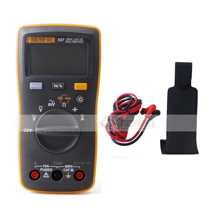 Atual de Fluke dc com Pingente Multímetro Digital Handheld – Magnético 107 ac