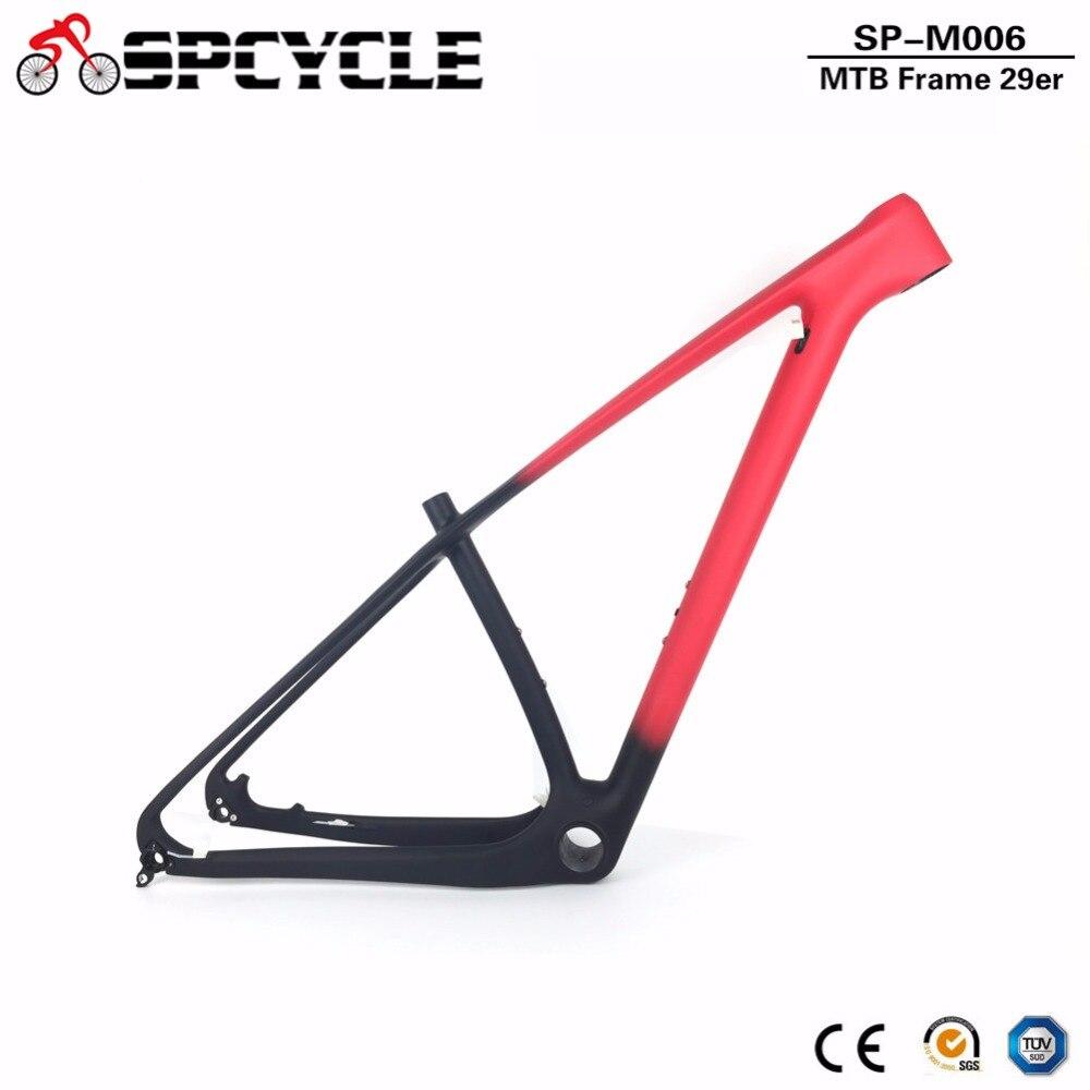 """T1000 27.5er 29er mtb mountain bike quadros de fibra carbono, 650b bicicleta quadros de carbono, através do eixo 142*12mm ou 135*9mm 15 """"/17""""/19 """"/21"""""""