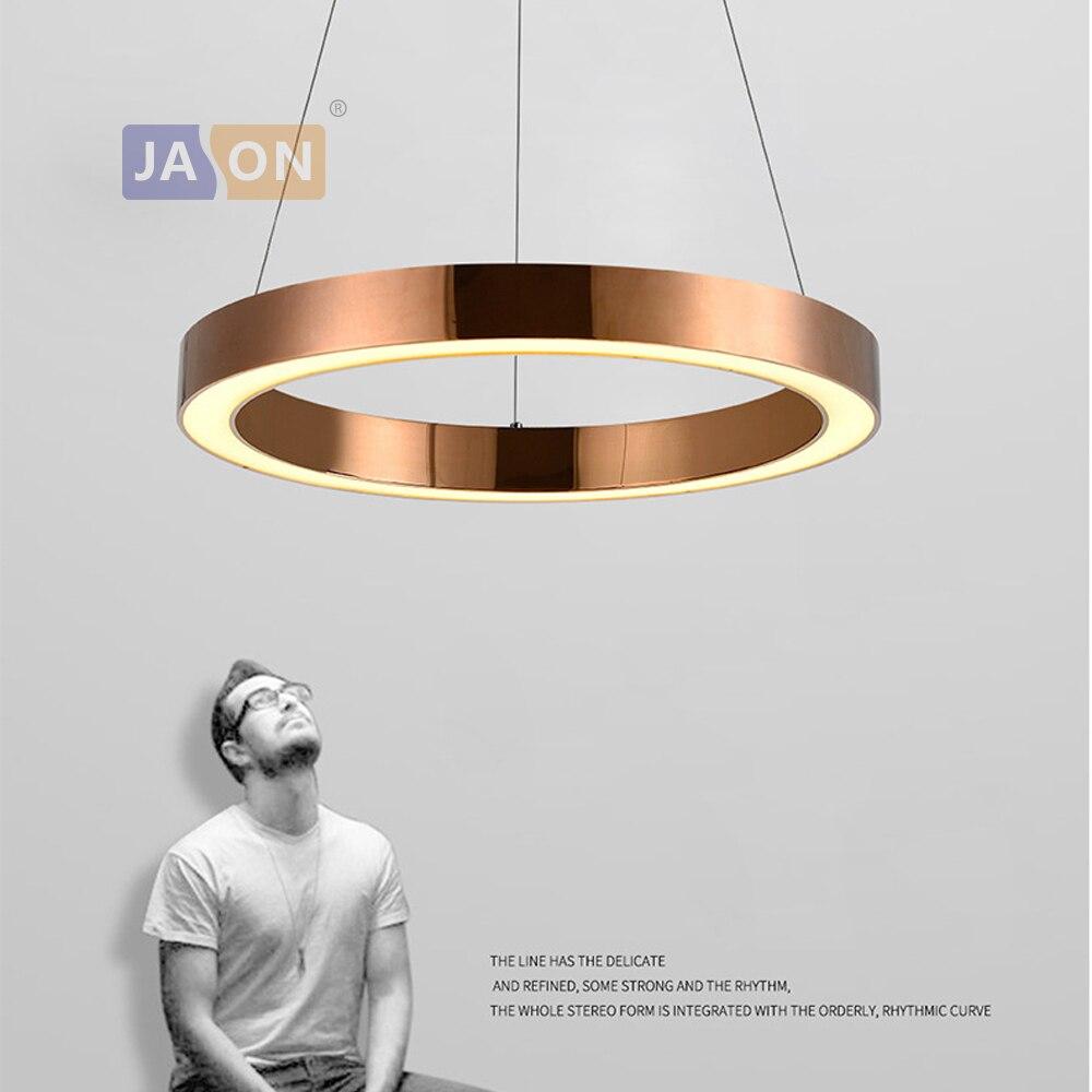 مصباح LED معلق من الفولاذ المقاوم للصدأ على الطراز الاسكندنافي ، فضي وذهبي ، أكريليك ، إضاءة داخلية ، مثالي لغرفة الطعام.