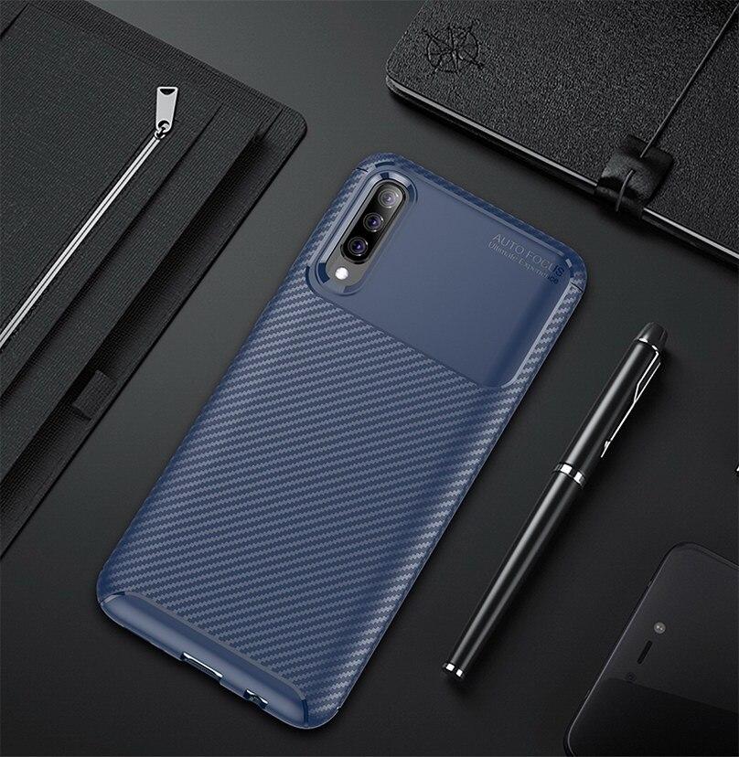 Funda de teléfono de lujo para Samsung Galaxy A70 Fundas smartphone suave...