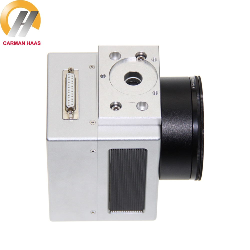 1064nm Economic Digital Fiber Laser Galvo Scanner Head 10mm Input XY2-100 With Power Supply Switch Cable Sets