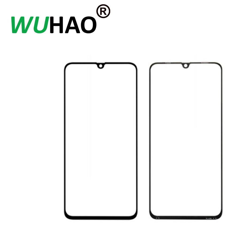 10 piezas A + CALIDAD para Samsung Galaxy A70 reemplazo de la pantalla de cristal frontal parte de reparación de la lente exterior