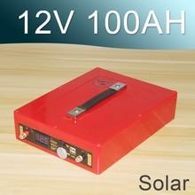 12 V 80AH Batteria agli ioni di Litio 12 V Solare Ricaricabile Lipo
