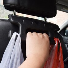 Holder Hook for Bag Back Seat Handrail Interior Accessories Organizer Auto Fastener Clip for Elderly Car Hanger For Safety