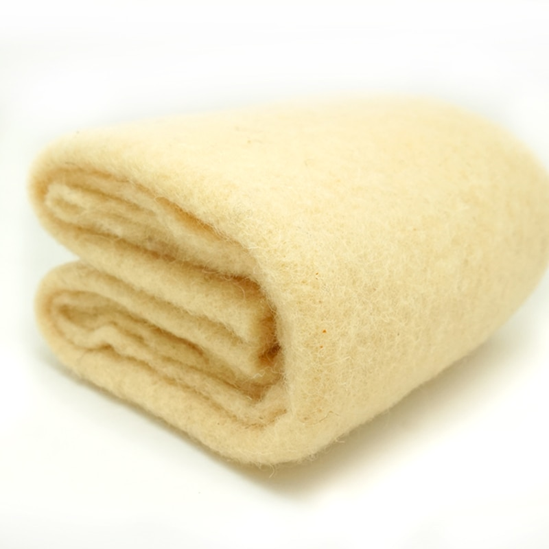 O envio gratuito de Manta de lã/semi-lã feltragem para agulha de feltro, agulha de feltragem, Fiação de fibras, foto adereços creme Amarelo