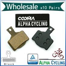 Plaquettes de frein à disque de vélo pour Magura MT8, MT6, MT4, MT2 frein à disque, résine noire, 10 paires, BP012