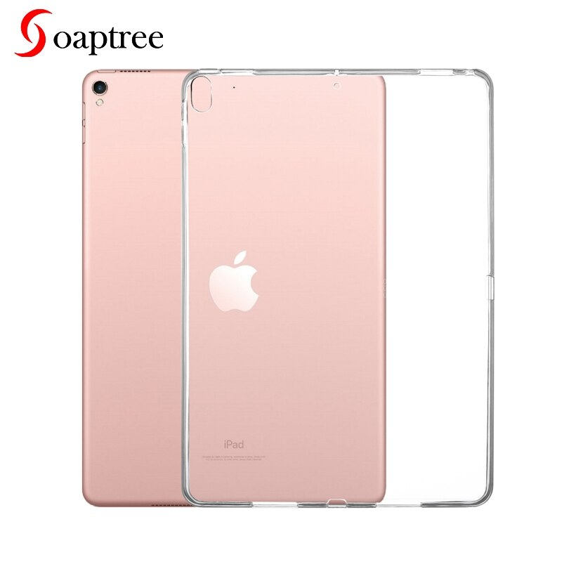 Funda de tableta para Apple iPad Pro 10,5, funda transparente de silicona suave ultrafina para iPadPro 10,5 2017, funda trasera