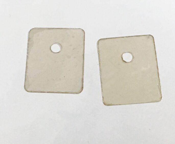 TO-247 Transistor Mica sheet  Insulation Pad Sheet Mica Insulator 20*25mm