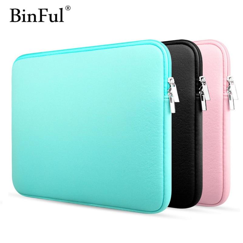 "BinFul 11 ""12"" 13 ""14"" 15 ""15,6 ordenador portátil bolsa funda cubierta de la caja para Dell Samsung Asus Toshiba Acer Surface Pro Ultrabook Notebook"