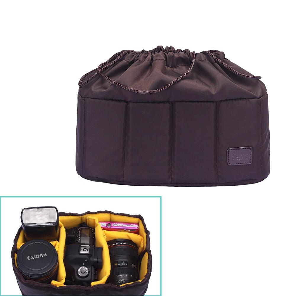 Рюкзак с подкладкой для цифровой камеры, водонепроницаемый ударопрочный чехол для камеры Canon 1300d