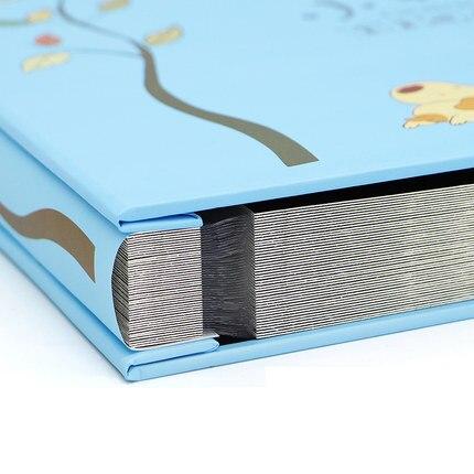 2019 novo álbum de fotos diy presente da família do bebê livro auto-adesivo filme criativo álbum filme titicket coleção de fotos grande capacidade