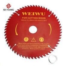 Lame de scie circulaire en carbure pour la coupe du bois, outil de coupe du bois, ouverture de 180mm, 7 pouces, 25.4mm, 40T 60T 80T