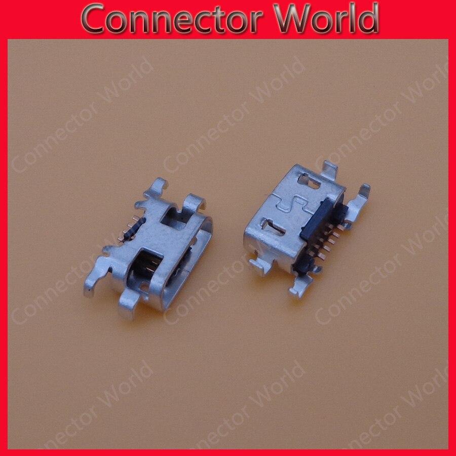 10 unids/lote Micro mini 5 Pin USB Jack conector de enchufe hembra...