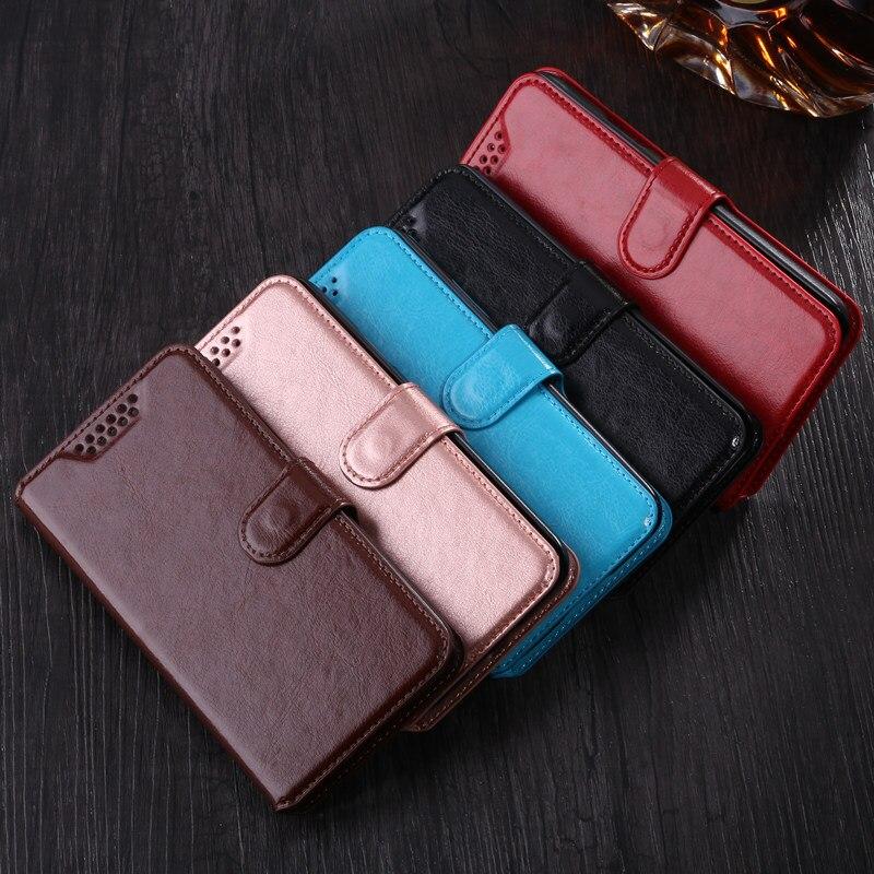 Coque Flip Case para Wiko Jerry 3 Cartera de cuero suave de silicona TPU teléfono caso para Wiko Jerry3 diseño de pie de apoyo de piel contraportada