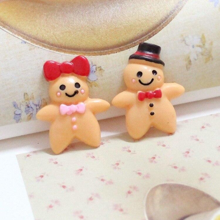 10 Uds lindo muñeco de nieve de resina encanto para DIY hecho a mano artesanía decoración Scrapbook adornos accesorio