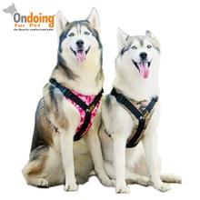 Arnés de perro para mascotas profesional Collar de chaleco para caminar al aire libre cómodo arnés para mascotas pequeño mediano grande accesorios para perros