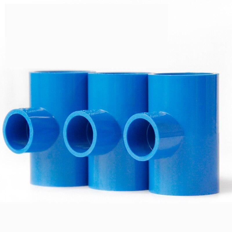Tubería de PVC, accesorio en t de tres vías variable, accesorios de tubería de suministro de agua de 50mm 63mm, accesorios de tubería de pvc