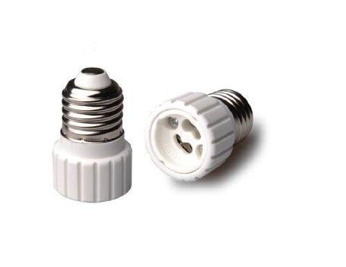 1pc E27 to GU10 Converter LED Light Lamp Bulb Adapter Adaptor Screw Socket ceramic material Converter Socket Light Bulb