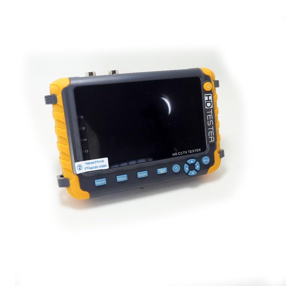 5MP HD AHD CCTV Camera Tester 5 Inch LCD Screen Monitor PTZ Audio Analog Camera Tester for 5MP 4MP 2MP AHD TVI CVI CVBS Camera enlarge