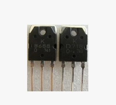 2pair 2SD718  2SB688 Transistor (2 x D718 + 2 x B688) Best quality