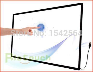 Pantalla táctil infrarroja de 10 puntos de 70 pulgadas para kiosco, publicidad, entretenimiento, público