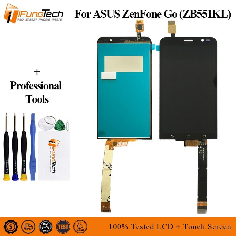 5,5 para Asus ZenFone 3 TV ZB551KL X013D X013DA X013DB X013DC completa LCD pantalla + pantalla táctil digitalizador Asamblea + cubierta de Marco
