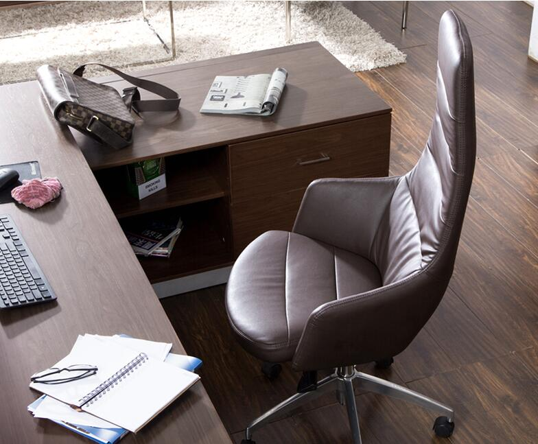 Офисная мебель. Кресла руководителя. Кожаные Офисные стулья с высокой спинкой s.06