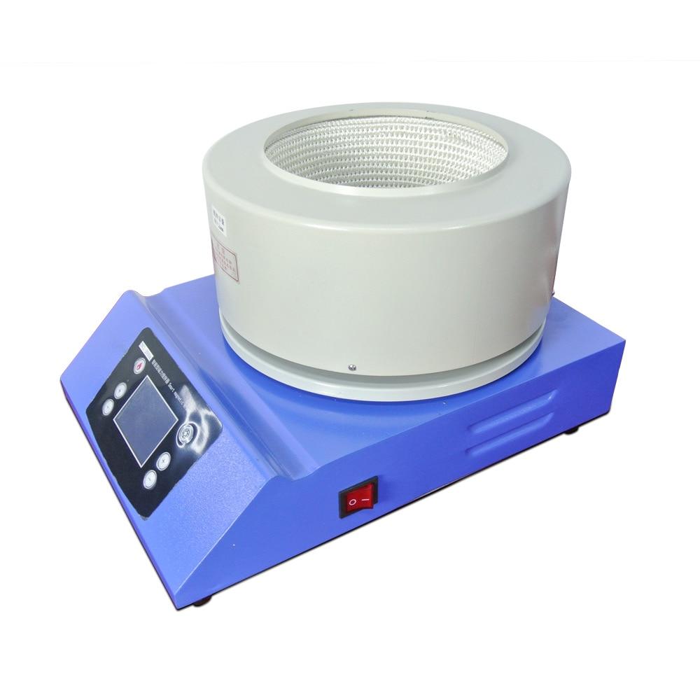 Laboratory Heating Mantle  Equipment 2L Electric Heating Belt Magnetic Stirring Intelligent Digital Display 220V