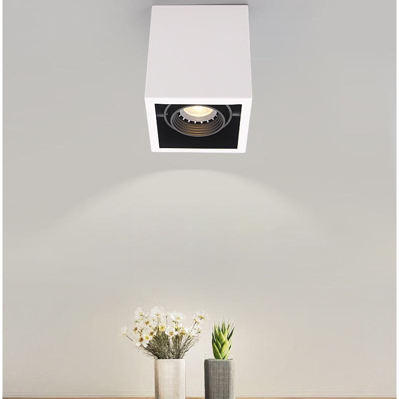 luzes de teto led unico ponto lampadas led iluminacao 10 w conduziu a luz de teto