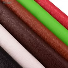 DwaIngY Saf renk serisi PU Sentetik Suni Deri kumaş Için Patchow DIY ve Dikiş Kapitone kanepe koltuk el sanatları malzeme Yarım metre