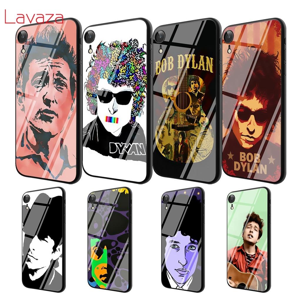 Lavaza T56 artista Rock Bob Dylan vidrio templado TPU para iPhone 6 iPhone 6 6S 7 7 Plus 5 5S SE XR X XS X 11 Pro MAX