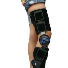 Genouillères articulées pour enfants Support médical du genou arthrose pour enfants avec verrou pour la pose de marche et le sport