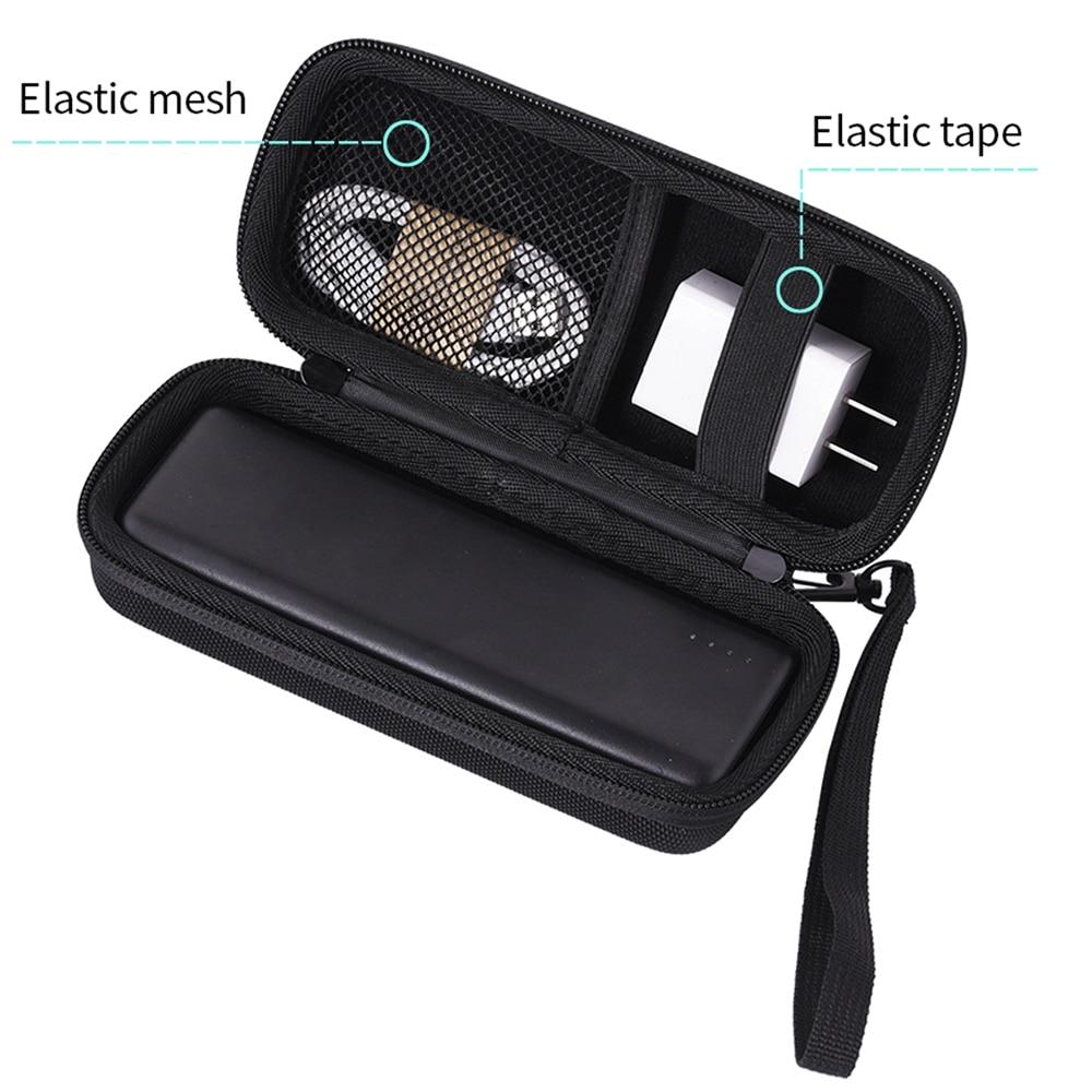 Estuche de almacenamiento EVA portátil impermeable para Anker PowerCore, bolsa de mano para Anker 20100mAh 13000mAh 10000mAh