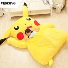 Mooie Pikachu Matras Totoro Luie Sofa Kussen Mat Zachte Cartoon Bed Kind Tatami Leuke Speelgoed Voor Kid