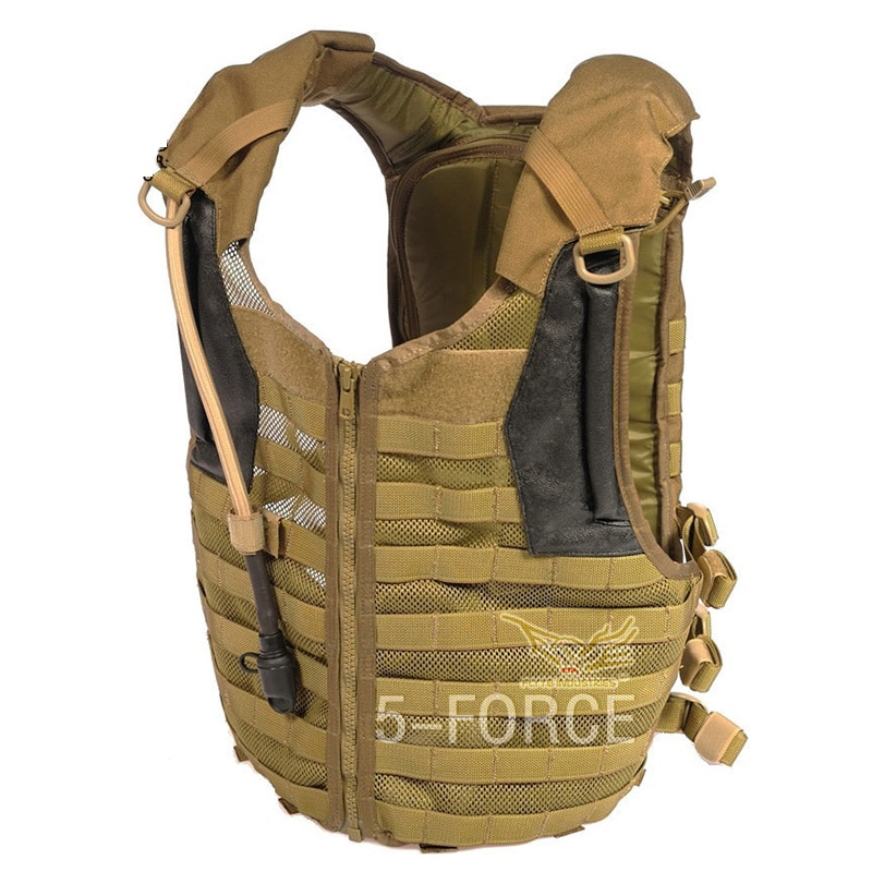 Delta militar colete tático de alta qualidade 1000d bexiga xforce molle sistema equipamento proteção militar 3l saco água ce013