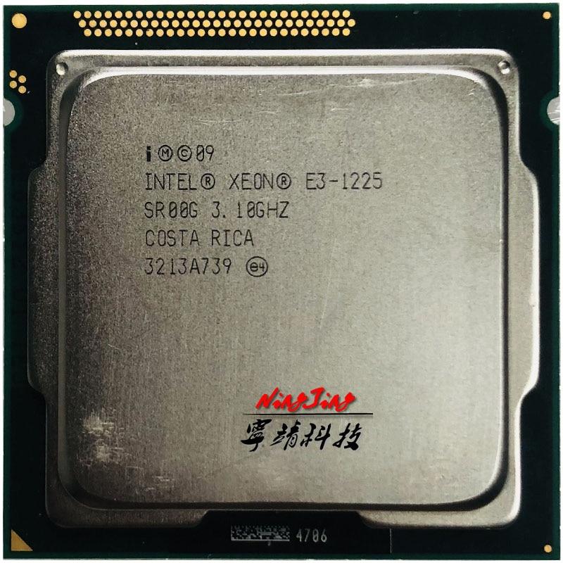 Intel xeon E3-1225 e3 1225 3.1 ghz processador central quad-core 6 m 95 w lga 1155
