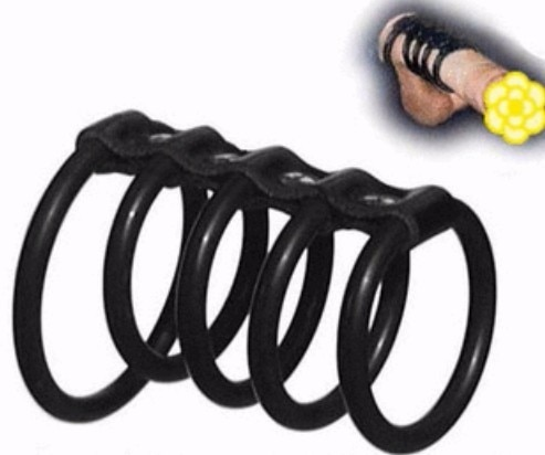 5 anillos anillo de pene retardante anillo de silicona para pene extensor jaula impotencia erección ayuda disfunción eréctil juguete sexual para hombre