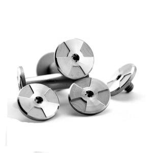 Diy Knife Making knife Handle screw whirlwind Rotating rivet T8 Plum blossom screw 20 size