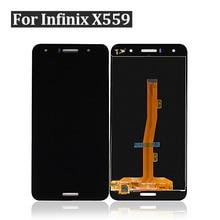 Para Infinix Hot 5X559 LCD X559C pantalla táctil montaje completo digitalizador negro Nuevo envío gratis