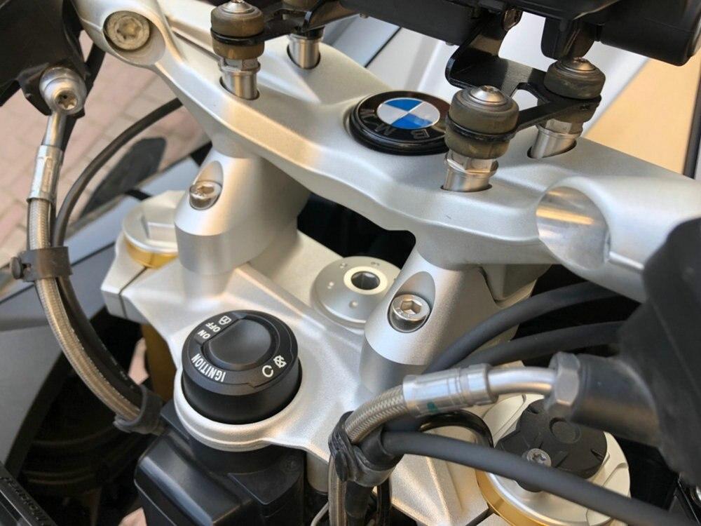 Модифицированный для BMW R1200RS 2015-2016 R1250RS руль стояки с повышением высоты адаптеры после переключения