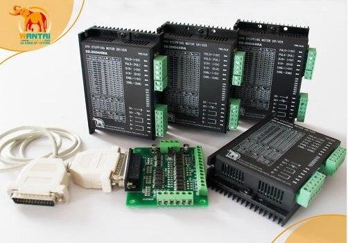 Estados Unidos y la UE. Controlador paso a paso de Control CNC de 4 ejes, 24-80VDC/7.8A/256Microstep