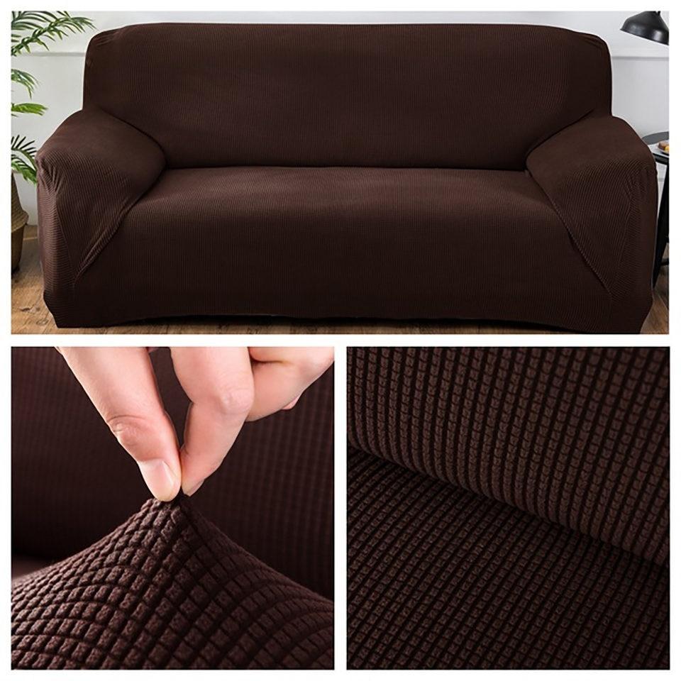 Polar Fleece Fabric Universal Sofa Cover Euro Sofa Covers For Living Room Stretch Sectional Corner Sofa Cover Plaids On The Sofa