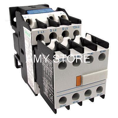 Contacteur à courant alternatif LC1D18   220 Volts, bobine LA1DN22 2NO, bloc de Contact auxiliaire 2NC Combo